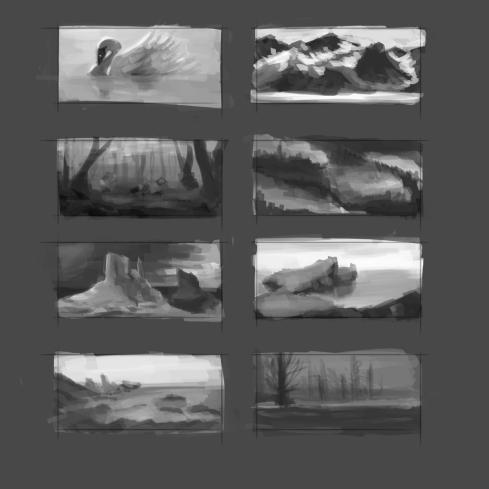 Thumbnail sketches 2